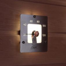 Термометр для сауны Cariitti с подсветкой SQ