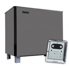 Электрокаменка для сауны и бани EcoFlame SAM D-18 18 кВт + пульт CON6