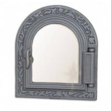 Дверца для печки со стеклом DPK9 H1611