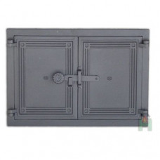 Дверца двустворчатая с засовом DCHP5 H1105