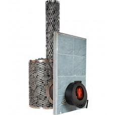 Печь дровяная IKI SL PLUS со стеклянной дверкой