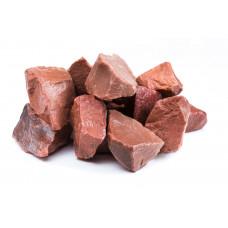 Камень для сауны Малиновый кварцит, 20 кг