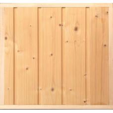 Вагонка скандинавская ель 95х13,8 мм