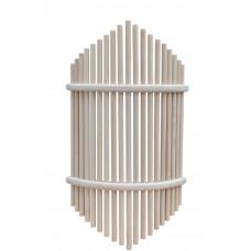 Ограждение для светильника липа люкс угловое